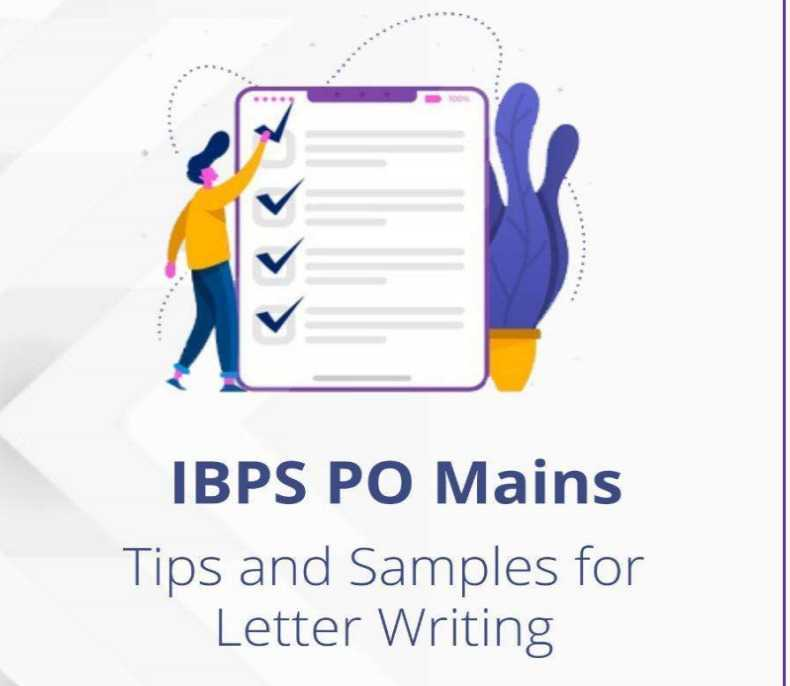 Letter Writing For Bank PO Exam PDF