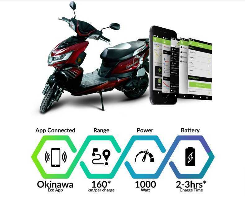 Latest Okinawa i-Praise Electric Scooter Brochure 2021 PDF Free Download