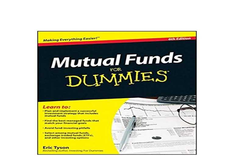 Mutual Funds for Dummies PDF